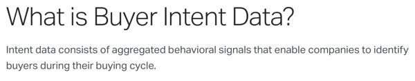 buyer-intent-data