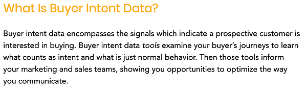 what-is-buyer-intent-data